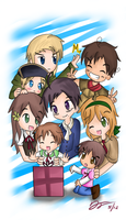 Hetalia: Family Reunion by Konendo