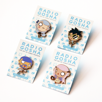 Radio Gosha Enamel Pin Set - Wave 2 by GoshaDole