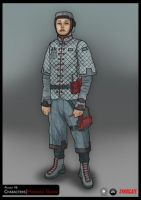 SYNDICATE concept - character by torvenius