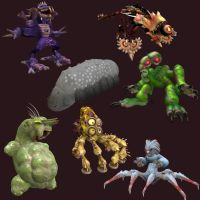 7 Deadly Sins - Spore Style by Monster-Man-08