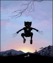Wolverine Kid by AndyFairhurst