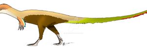 Traditional Sinosauropteryx by Qilong