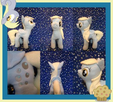 Derpy Hooves Plushie by Meowplease