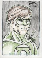 Green Lantern by JohnJett