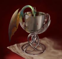 dragon goblet by Hagge