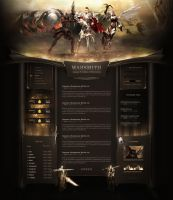 LineAge 2 Webdesign by webgrafion