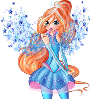 Winx Club 8 - Bloom Transformation PNG by Feeleam