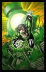 Green Lantern color 2 by santiagocomics