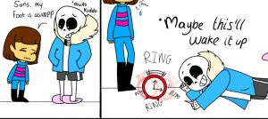 Sans' terrible jokes by Anam786