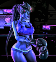 Widowmaker (Clothed) by IsiyAzza