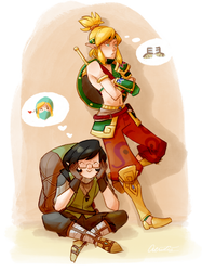 LoZ: BotW - Gimme Them Boots! by Aeridis