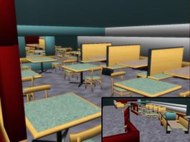 MMD Dinning Room Download by SachiShirakawa