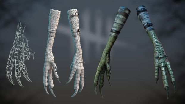 Fanart Hag weapon. by dshpilevoy