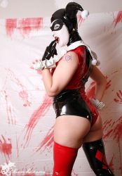 PVC Harley Quinn by SynthetikaCosplay