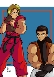 Ken vs Robert by fighterxaos