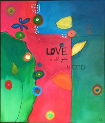 All you need is love  by SandrineJacquesson