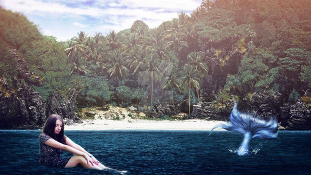 If it could be Mermaid - Fotomanipulacion by kendra19082002