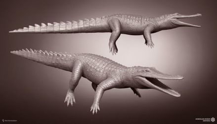 Isisfordia. Queensland Museum. WIP by Swordlord3d