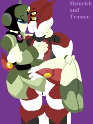 Heinrich X Trainer by SoundwaveGirl