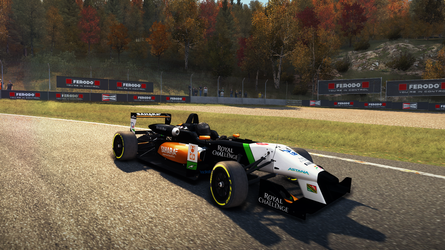 Sahara Force India F1 Team Livery for Dallara F312 by NG-yopyop