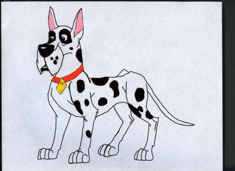 Jayden the Great Dane (Disney Style) by Dragonfire810