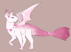 Pastel Rose Adopt - OPEN $5 by SpookyBjorn