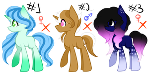 Mlp Adoptions (Closed) by LadyUnilove