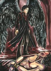 A Dead Man's Angel by carthasis