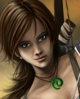 Tomb Raider 2012 (Close-Up) by RaPour