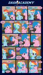 Dash Academy Chapter 7 - Free Fall #15 by SorcerusHorserus