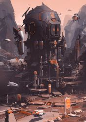 Mission Mars by JamesLedgerConcepts