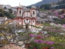 Church of Ouro Preto by anjosarda