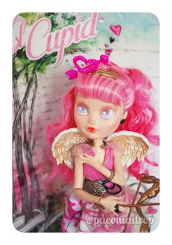 EAH C.A. Cupid w/ NEW How To Curl Doll Hair Video by ShadowedPorcelain