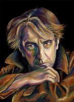 Alan Rickman by nicolabuckleyart