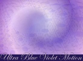 Ultra Blue Violet Motion by StephenL