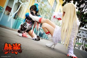 tekken - battle : 03 by xrysx