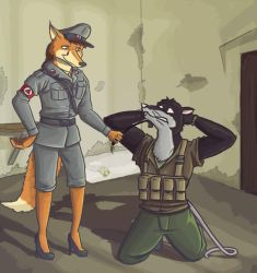 Art trade: Some prisoners likes it rough by SteinWill