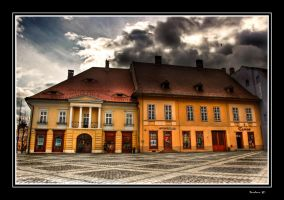Sibiu town 4 by elthudor