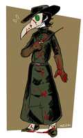 Hyde the Plague Doctor by MidoriLied