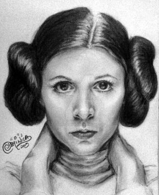 Princess Leia by DominicaPresently