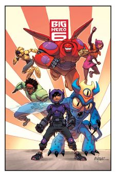 Big Hero 6 With Gus Vazquez by Ross-A-Campbell