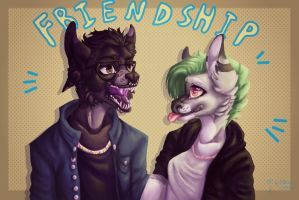 FRIENDSHIPISMAGIC by B-UBI