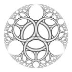 Apollonian Gasket I by Aexion