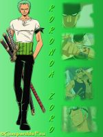 Montage of Roronoa Zoro by GueparddeFeu