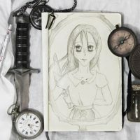 Alice: Madness Returns through the Looking Glass by pushka