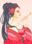 Geisha - Copic Coloring Contest by Ascadelia