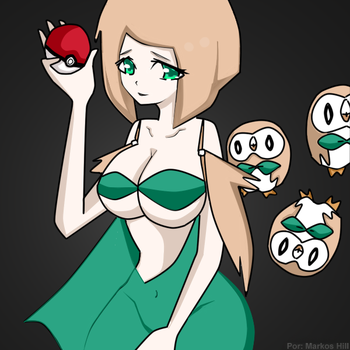 Rowlet Pokemon by markosmajestik