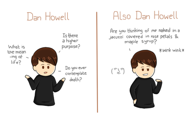 Dan Howell by espadaroja