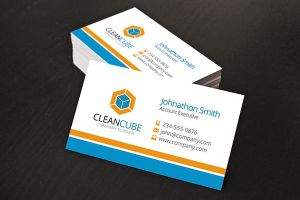 Corporate Business Card Design by xstortionist