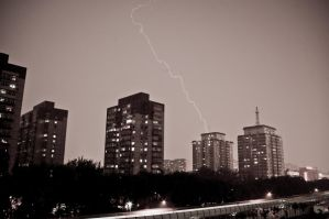Thunder in Beijing by NickyLarson